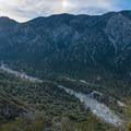 Looking back toward Momyer Creek.- San Gorgonio via Momyer Creek Trail + Vivian Creek Trail