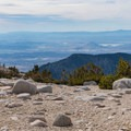 Looking back to the valley to L.A.- San Gorgonio via Momyer Creek Trail + Vivian Creek Trail