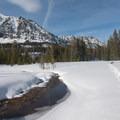 The Aneroid Lake basin.- Aneroid Lake Ski Tour