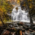 Faery Falls.- Faery Falls in Ney Spring Canyon