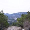 Looking toward Rattlesnake Ridge.- Little Si