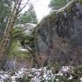 A huge two story boulder along the Boulder Gardens Loop.- Boulder Gardens Loop