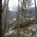 Steep hills just off the trail.- Boulder Gardens Loop
