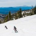 Near the end of the descent.- Mount Adams: Southwest Chutes