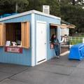 The entrance station at San Mateo On Ice.- San Mateo On Ice