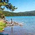 Paulina Lake.- Paulina Lake Campground