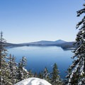 Odell Lake from Eagle Rock.- Odell Overlook Trail