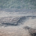 The surface of the crater is the crust of a lava lake.- Kīlauea Iki Trail