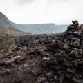 Hiking through the Kīlaeua Iki Crater.- Kīlauea Iki Trail
