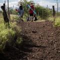 The section of the Ala Kahakai Trail that leads to Mau'umae Beach.- Mau'umae Beach