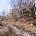 Beginning of the Joppenbergh Trail.- Joppenbergh Mountain