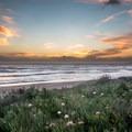 Sunset on Jalama Beach.- Jalama Beach Campground