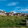 Cabins at Jalama Beach.- Jalama Beach Campground