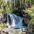 McKay Crossing Falls.- McKay Crossing Campground