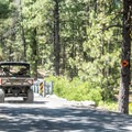 Offroad vehicle access from the campground.- McKay Crossing Campground