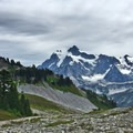 Mount Shuksan.- Ptarmigan Ridge