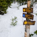 The range trail between Armstrong Mountain and Pyramid Peak offer some of the best hiking in the Adirondacks.- Gothics + Armstrong via Beaver Meadow Falls