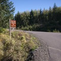 Entrance to Dairy Creek Camp East at L.L. Stub Stewart State Park.- Dairy Creek Camp East + West
