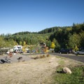 Dairy Creek Camp East at L.L. Stub Stewart State Park.- Dairy Creek Camp East + West