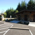 Restroom and shower facilities at Dairy Creek Camp West.- Dairy Creek Camp East + West