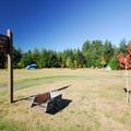 Walk-in campsites at Dairy Creek Camp West.- Dairy Creek Camp East + West