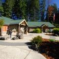 Visitor center at L.L. Stub Stewart State Park.- L.L. Stub Stewart State Park