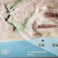 A model representing the heiau and the lower bay.- Pu'ukoholā Heiau National Historic Site
