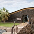 The visitor center at Pu'ukoholā Heiau National Historic Site.- Pu'ukoholā Heiau National Historic Site