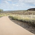 The walking path leading through the grounds are ADA accessible.- Pu'ukoholā Heiau National Historic Site