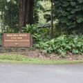 The entrance to Rainbow Falls.- Rainbow Falls near Hilo