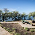 An ADA-accessible picnic area with a view in at Spencer Beach Park. - Samuel M. Spencer Beach Park