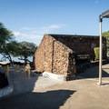 The restroom and shower facilities at Spencer Beach Park.- Samuel M. Spencer Beach Park