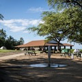 Camping is allowed at the south end of Spencer Beach Park.- Samuel M. Spencer Beach Park