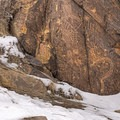 There are a wide variety of markings from many cultures and time periods.- Parowan Gap Petroglyphs