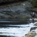 The Capilano River Valley is a hot spot for fishing.- Lower Capilano River Valley