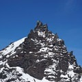Three Fingered Jack ready for her close up.- Three Fingered Jack Backcountry Ski: South Ridge