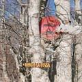 Signs along the snowshoe route.- Rifugio La Fossa Snowshoe, Monte Terminillo
