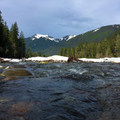 Carbon River facing east.- Carbon River to Ipsut Falls