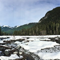 Carbon River.- Carbon River to Ipsut Falls