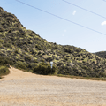 Head to the trail on the right.- Hollywood Sign via Lake Hollywood Drive