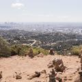 Summit of Burbank Peak.- Hollywood Sign via Lake Hollywood Drive