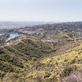Looking back at Lake Hollywood Drive.- Hollywood Sign via Lake Hollywood Drive