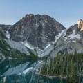 Colchuck Lake and Dragon's Tail.- Prusik Peak: West Ridge