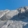 Clean rappels off of the north side.- Prusik Peak: West Ridge