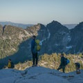 - Prusik Peak: West Ridge