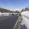 Start across the street from the second entrance to Solitude Resort.- Willow Knob Tour