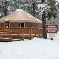 The Nordic Village also has plenty of family-friendly activities like the Nature Discovery Center.- Arizona Nordic Village