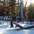 Setting out late in the day for an after-work ski.- Arizona Nordic Village
