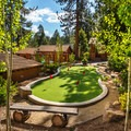 The putting green on the property. Photo courtesy of Cedar Glen Lodge.- Cedar Glen Lodge
