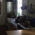 The kitchen at the Tilly Jane Guard Station.- Tilly Jane Guard Station